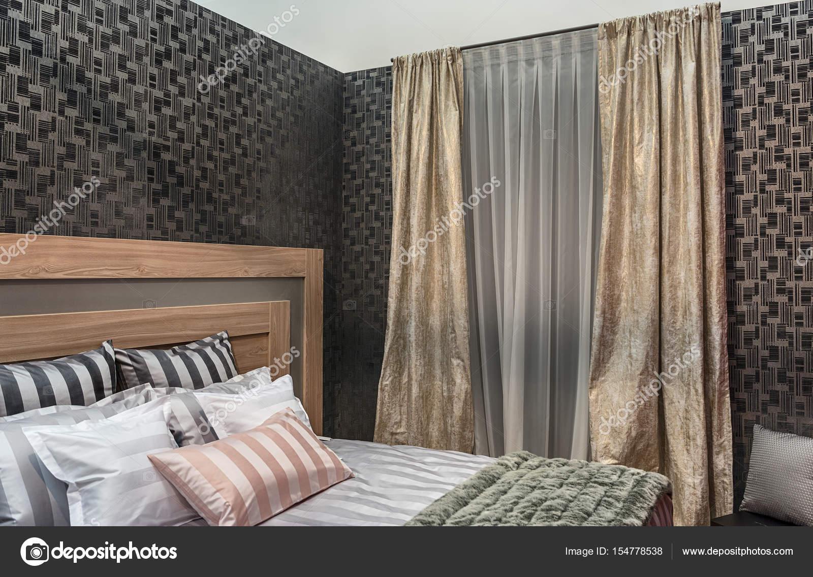 Camera Da Letto Vintage Moderno : Design moderno della camera da letto con materiali naturali