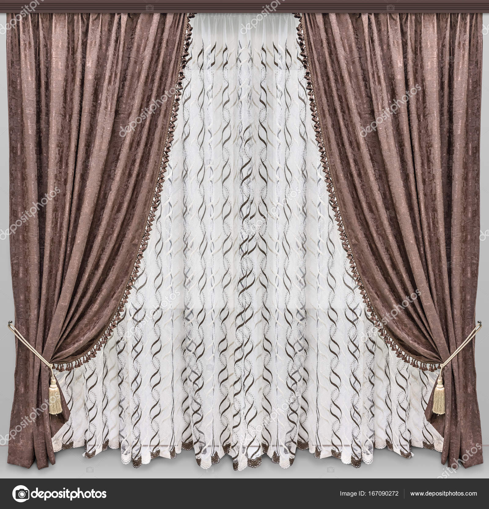 curtain gold window com curtains lush lushdecor products dream decor pair velvet