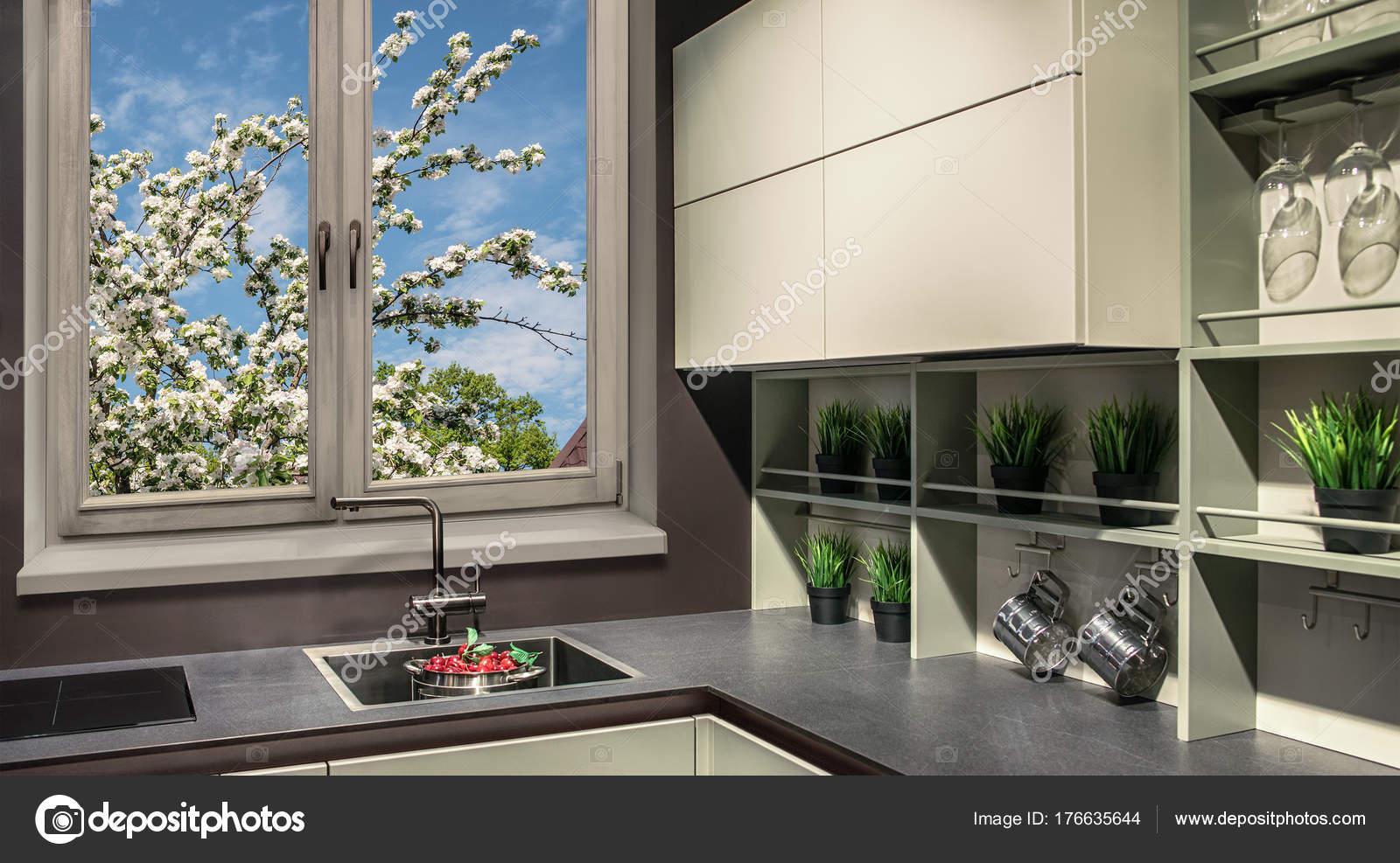Meubles de cuisine moderne dans le style de salut-technologie ...