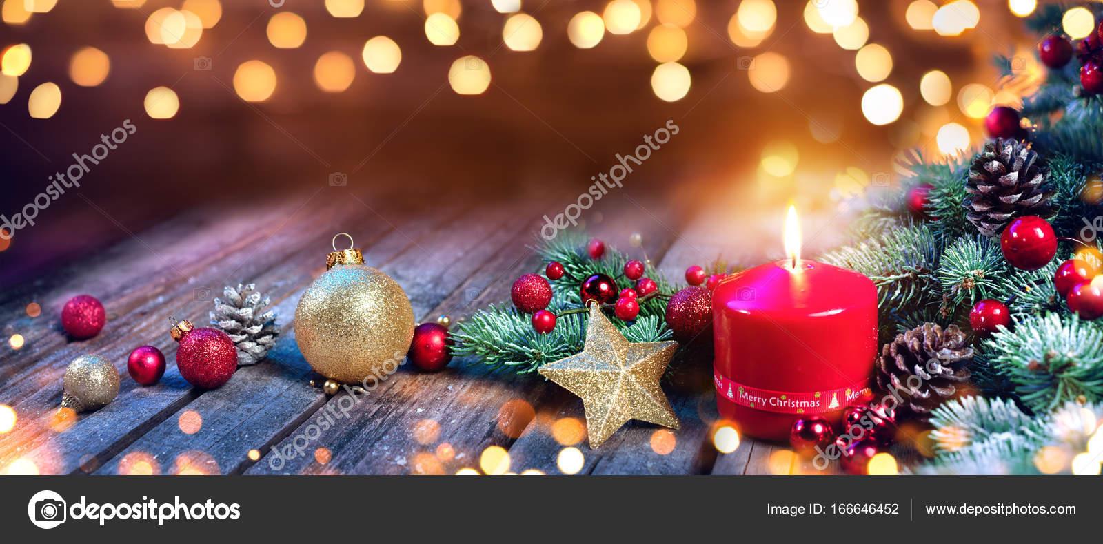 Vela de adviento con adornos navide os en madera vintage - Adornos navidenos con velas ...