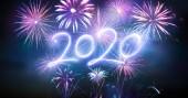 Boldog Új Évet 2020 Tűzijátékkal