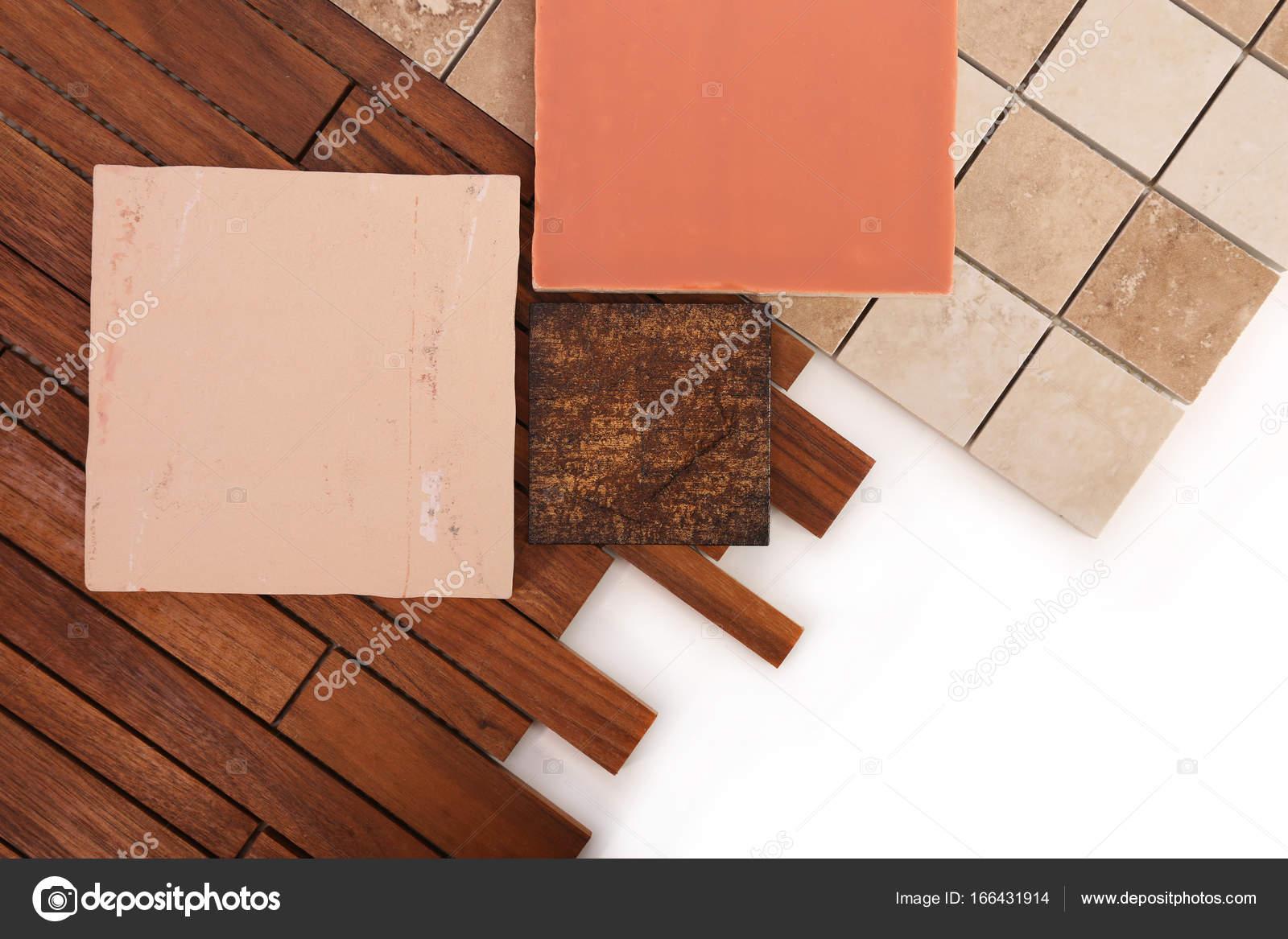 Piastrelle per la decorazione interna della casa u foto stock