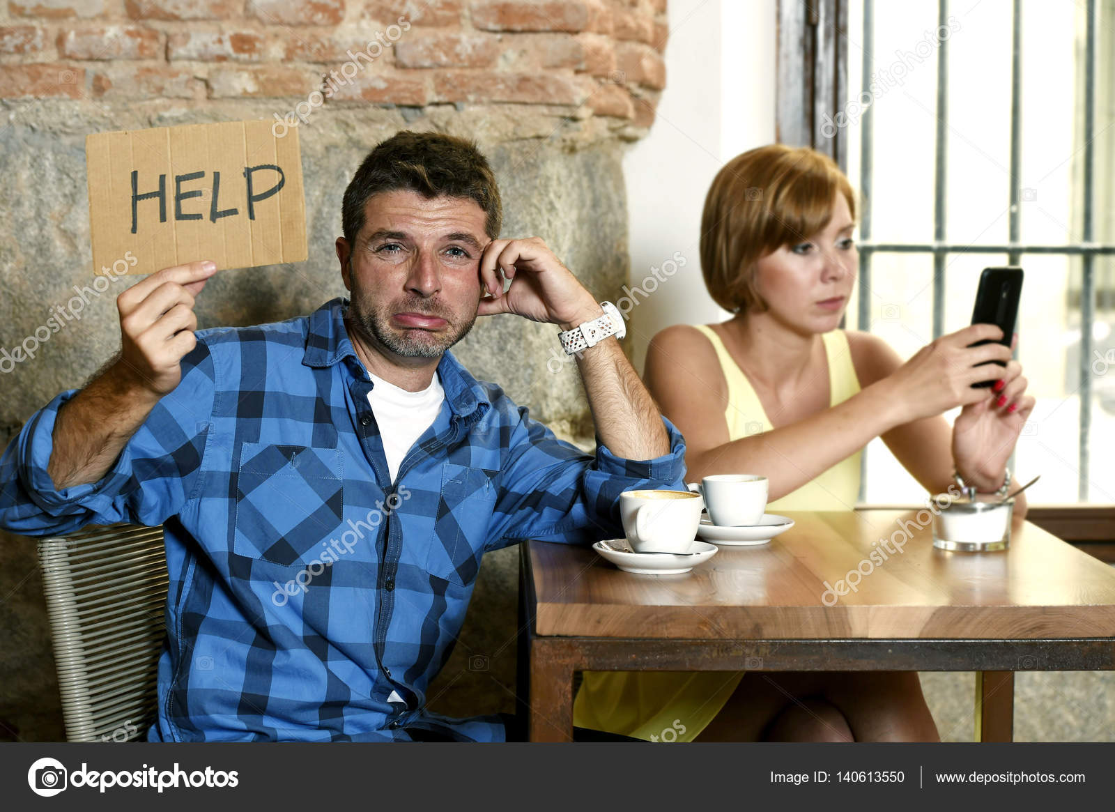 annoiato di Internet Dating
