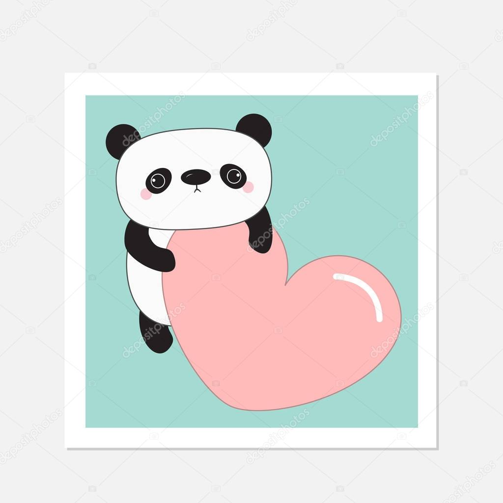 Kawaii Panda baby bear