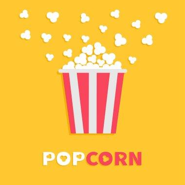 Popcorn popping in box