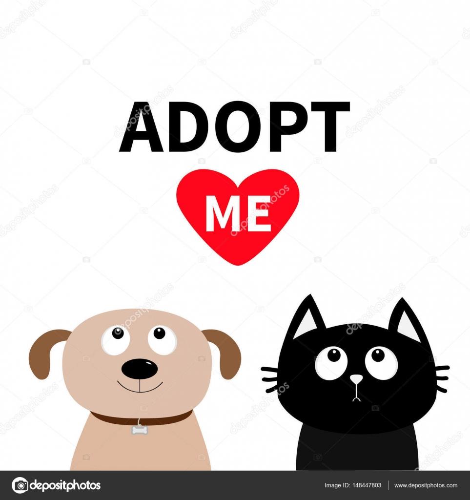 a96e509c30c1a Cachorro perro gatito tratando de corazón rojo. Diseño plano. Ayudar a  concepto de animales sin hogar. Fondo blanco. Aislado. Ilustración de vector  — Vector ...