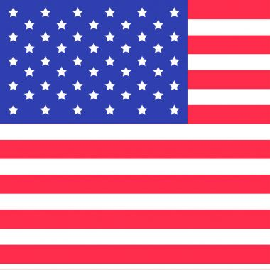 Star and strip american flag