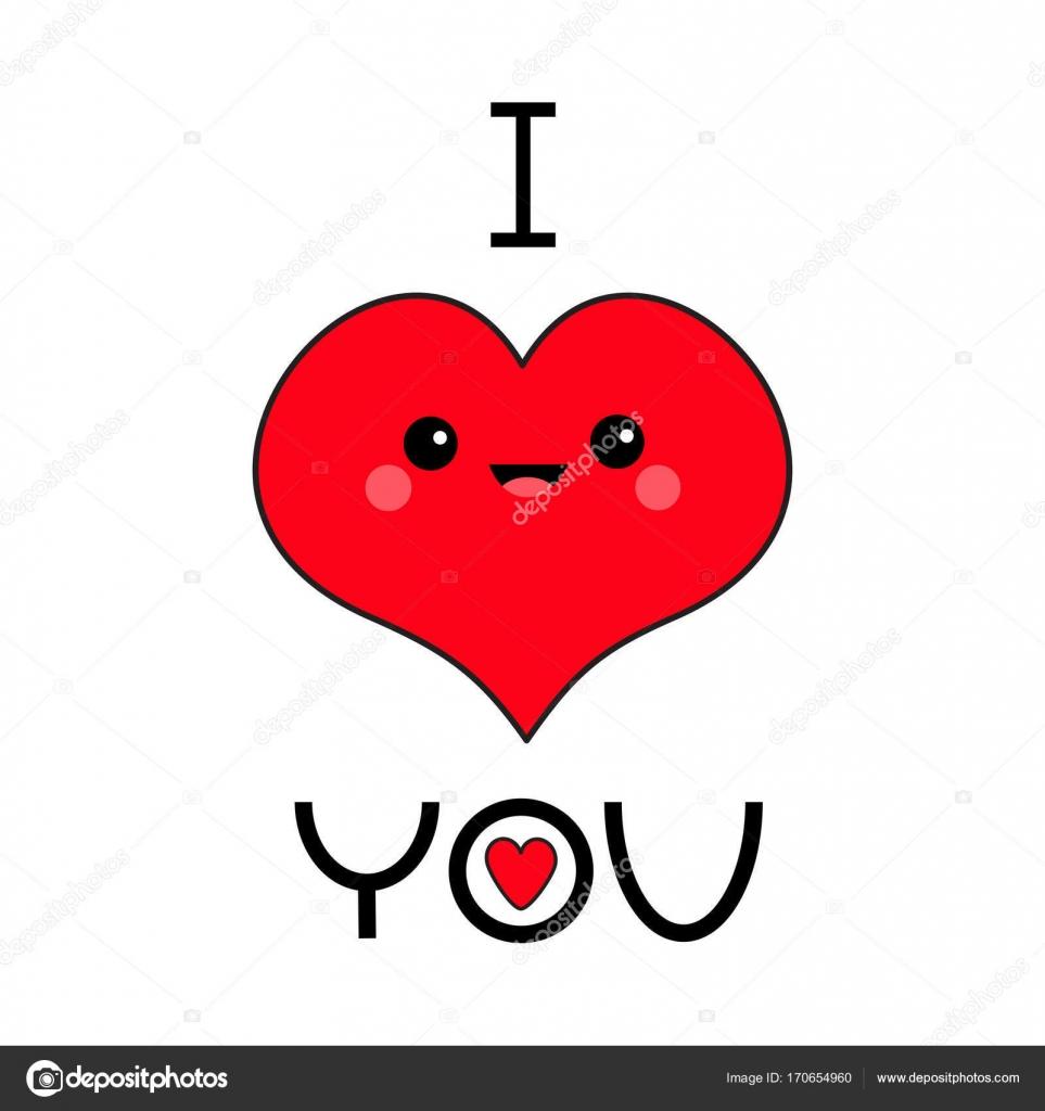 Kartenvorlage mit Cartoon rote Herzen — Stockvektor © worldofvector ...