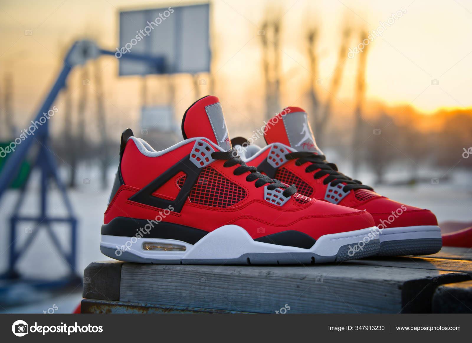 Fire Red Nike Air Jordan Retro