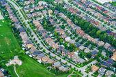 gazdag lakóövezetében házak