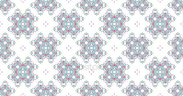 Tapety 4k rozlišení Ultra Hd. Vintage univerzální krásné pozadí s animovaným východní vzory. Retro styl pozadí s geometrický ornament