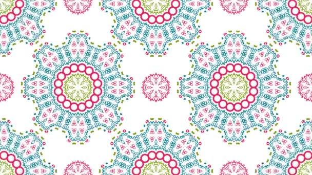 Tapety 4k rozlišení plné Ultra Hd. Vintage univerzální krásné pozadí s animovaným východní vzory. Retro styl pozadí s geometrický ornament