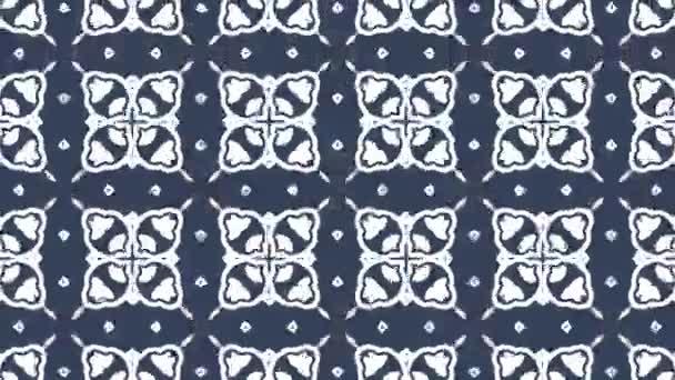 4 k kaleidoskopický video smyčky animace vzorku pozadí. Moderní abstraktní kaleidoskop motion design