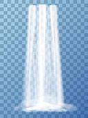 Realistická vektorová vodopád