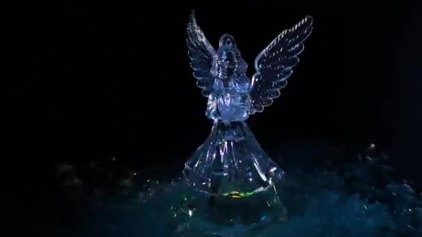Vánoční anděl ve sváteční atmosféře