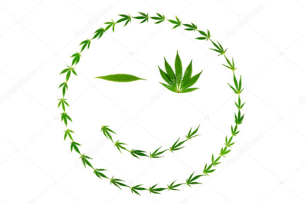 Смайл марихуана из листьев конопли что можно сделать
