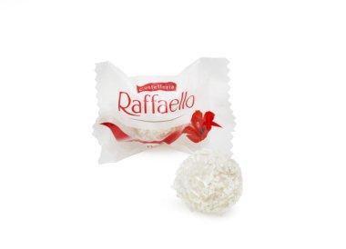 Ferrero Raffaello in a separate packaging