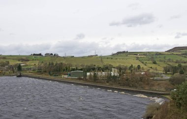 February 2020 saw some record rainfall levels, but Langsett reservoir dam and waterways coped admirably and efficiently.