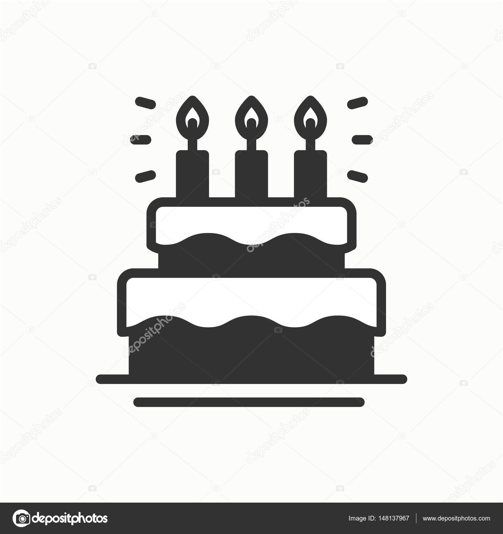 Birthday cake pie with candles icon happy birthday party birthday cake pie with candles icon happy birthday party celebration birthday holidays event carnival festive line party element icon buycottarizona