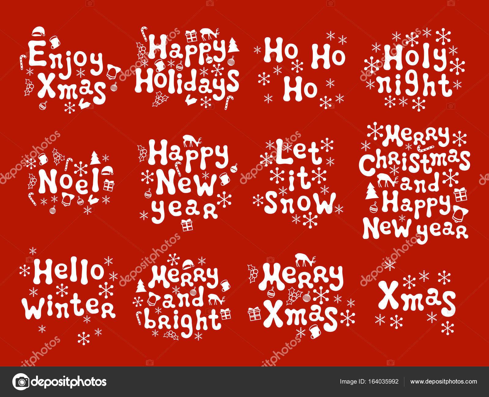 Dediche Di Natale Auguri.Frasi Di Calligrafia Di Natale E Capodanno Insieme Scritto A Mano
