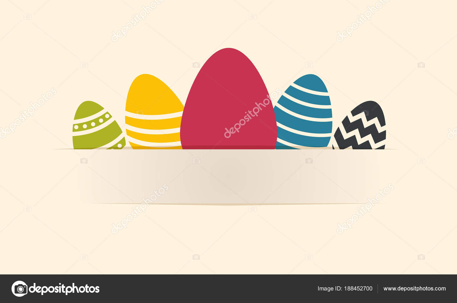 Easter eggs background gift card stock vector m4estr0 188452700 easter eggs background gift card stock vector negle Gallery
