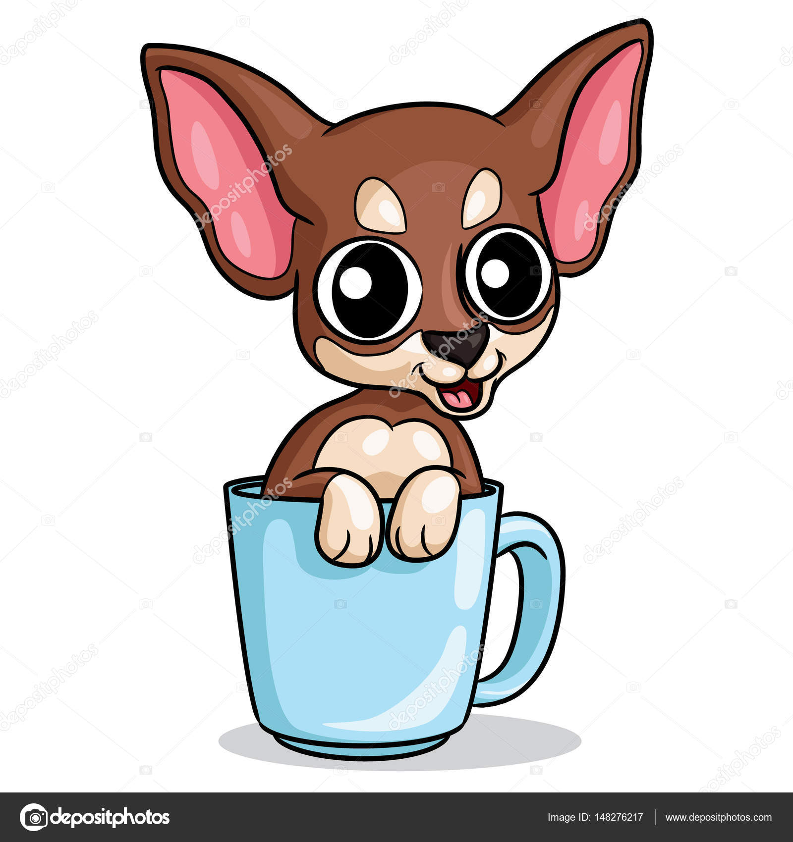 perro chihuahua de dibujos animados vector de stock clip art puppy dog pals clip art puppy free