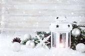 Vánoční bílá Lucerna