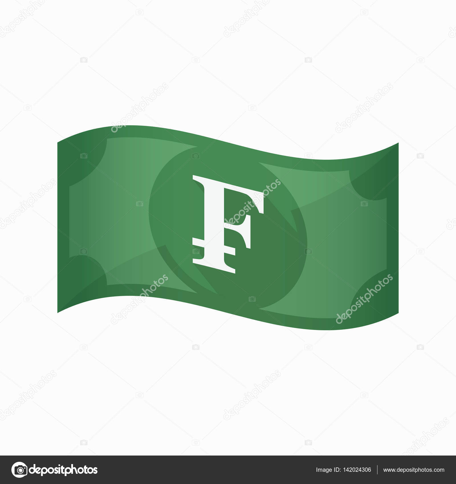 Isolated bank note with a swiss franc sign stock vector jpgon isolated bank note with a swiss franc sign stock vector buycottarizona Images