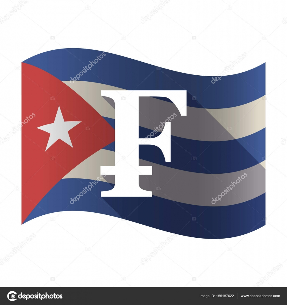 Isolated cuba flag with a swiss franc sign stock vector jpgon isolated cuba flag with a swiss franc sign stock vector buycottarizona Images