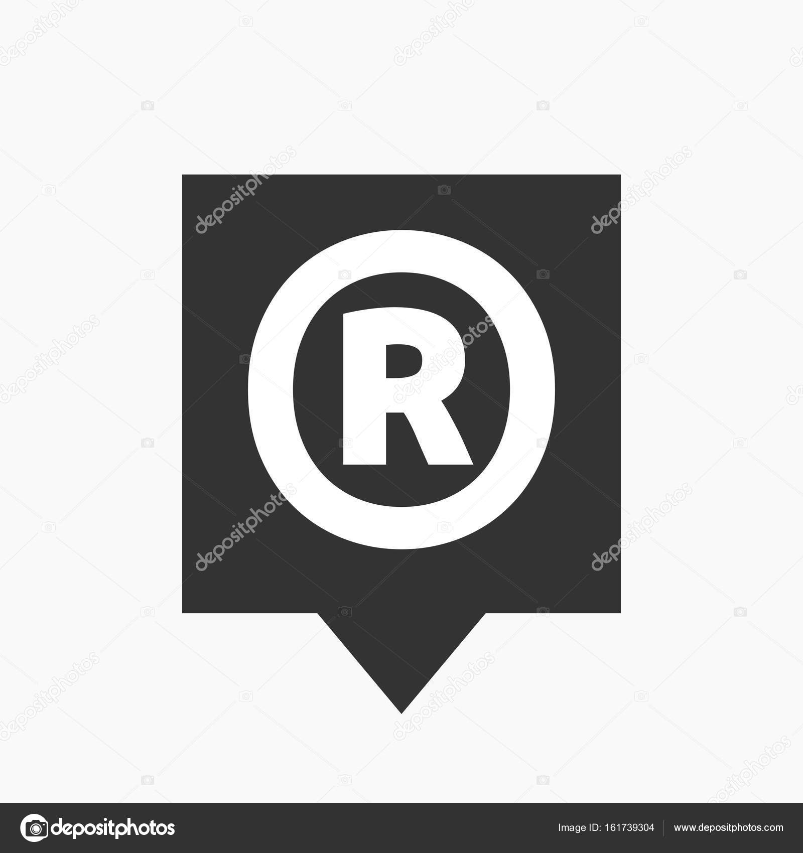 Isolated tooltip with the registered trademark symbol stock vector isolated tooltip with the registered trademark symbol stock vector biocorpaavc Choice Image