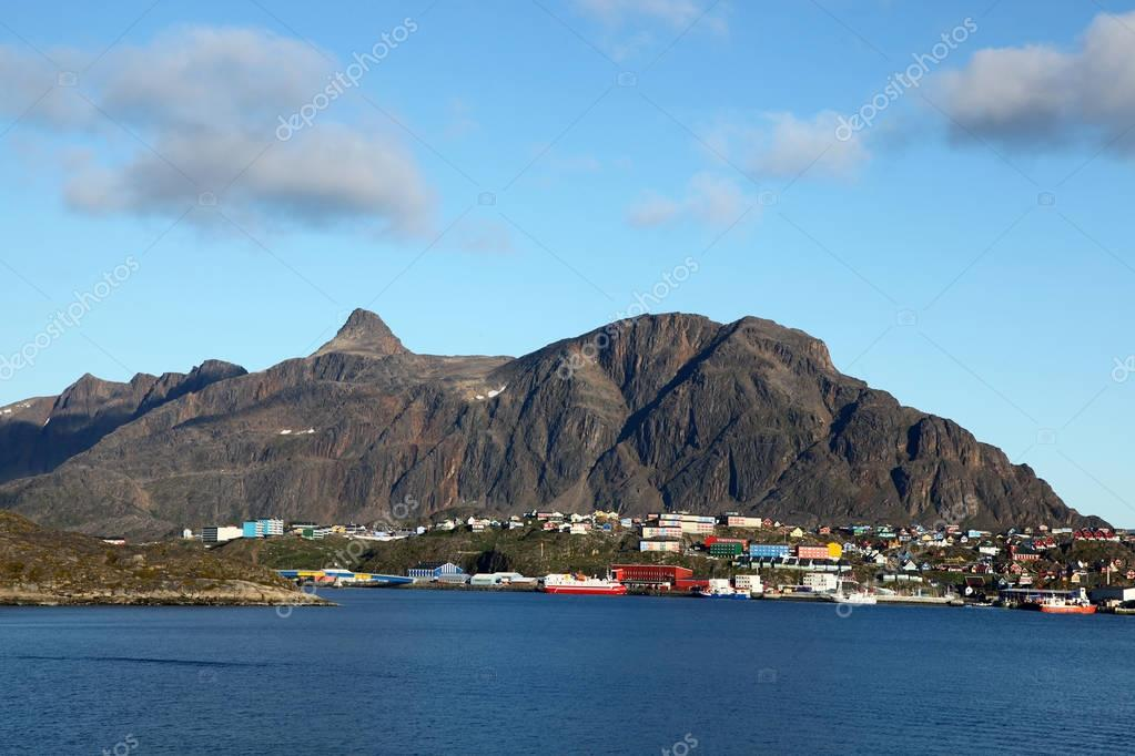 Sisimiut in Greenland, formerly known as Holsteinsborg