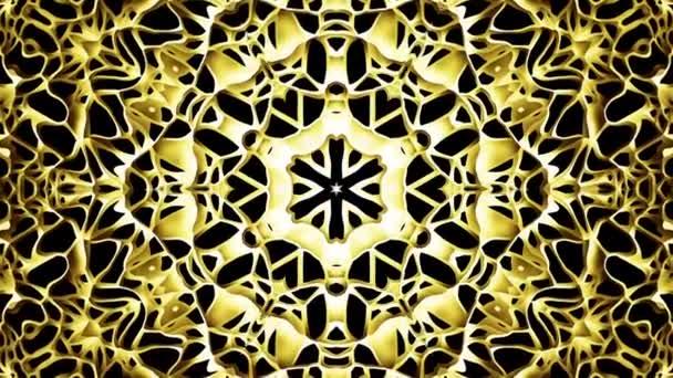 Arab geometriai minta Arany Mandala.