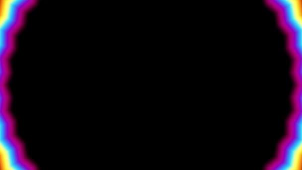 Spinning round gradient loop background