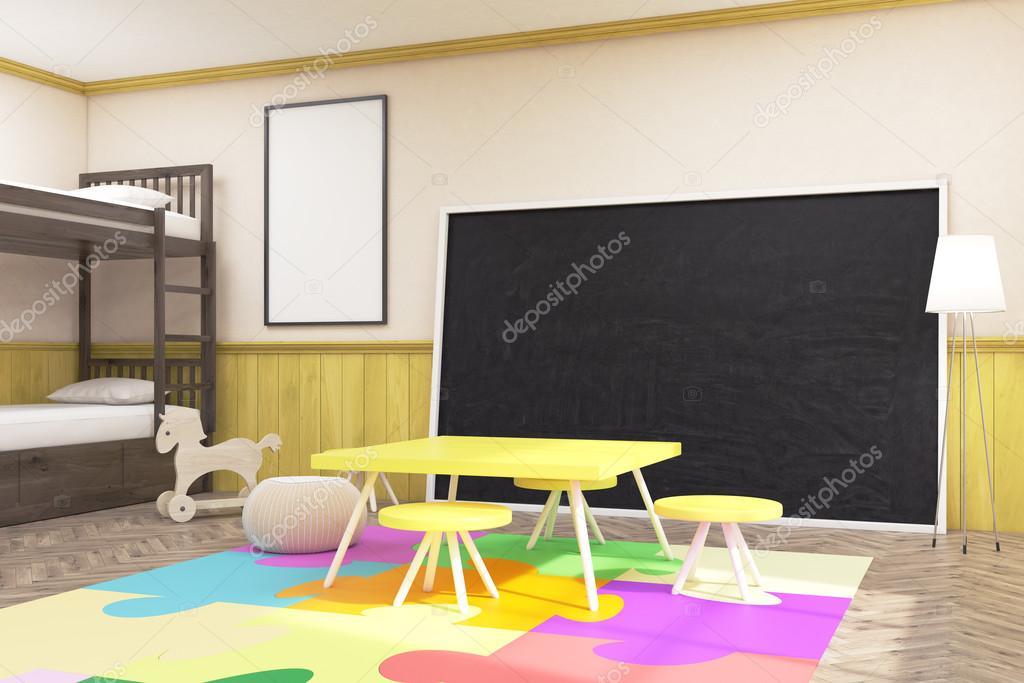Große Tafel im Kinderzimmer — Stockfoto © denisismagilov #126581688