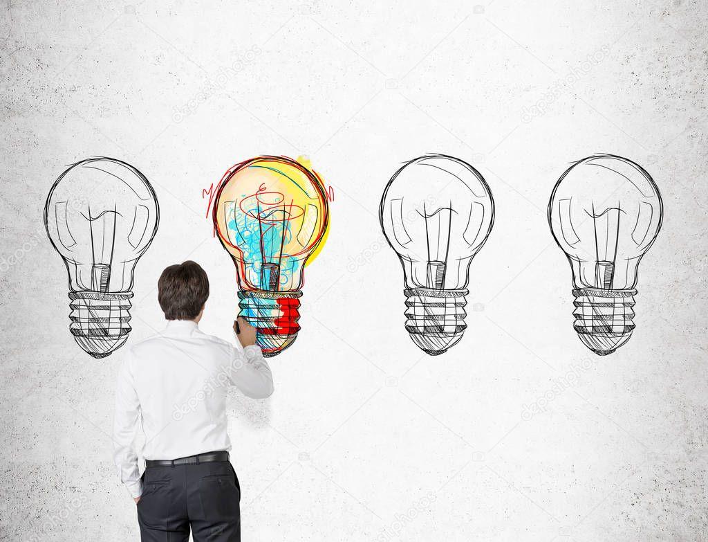Imágenes Un Empresario Para Dibujar Empresario Para
