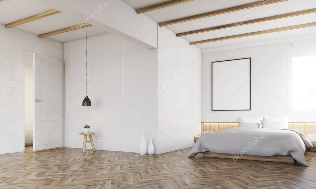 camera da letto con travi a vista ? foto stock © denisismagilov ... - Camere Da Letto Con Travi A Vista