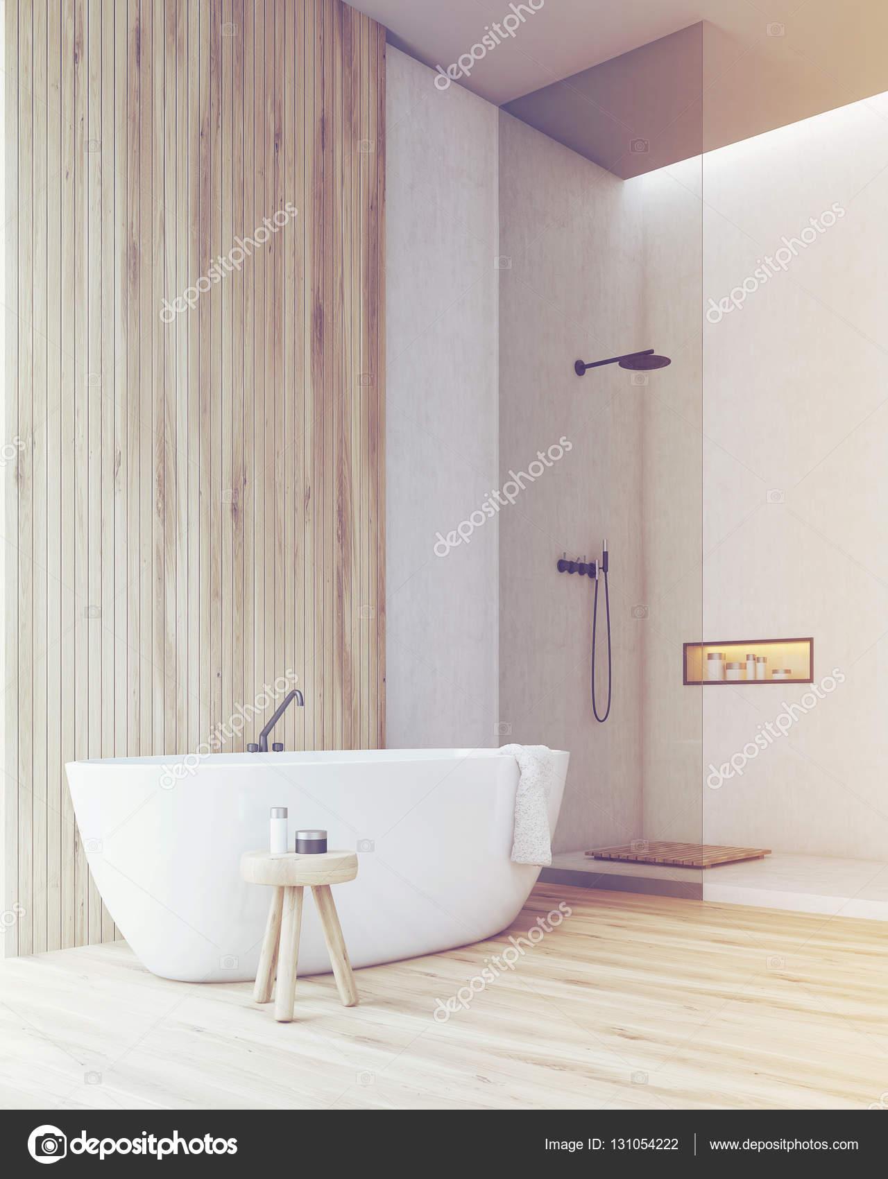 Free di una stanza da bagno con vasca e doccia tonica u for Camminare attraverso la doccia alla vasca