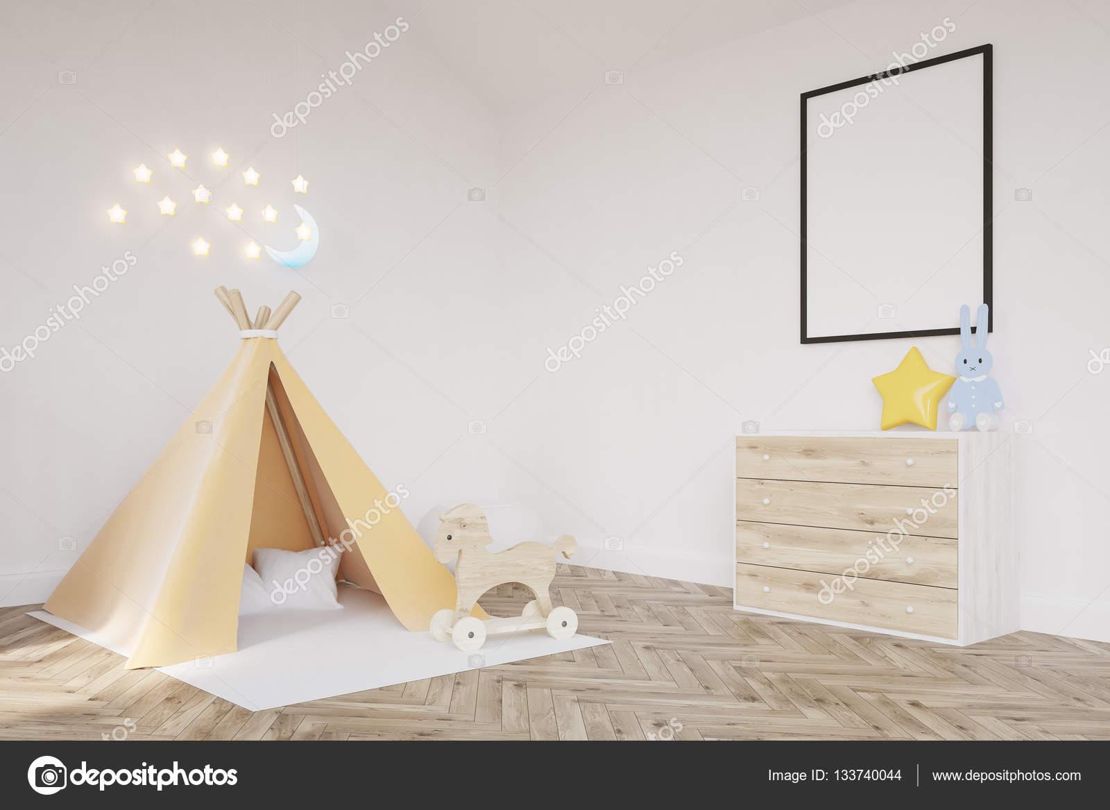 Kinderzimmer Zelt   Kinderzimmer Mit Einem Zelt Stockfoto C Denisismagilov 133740044