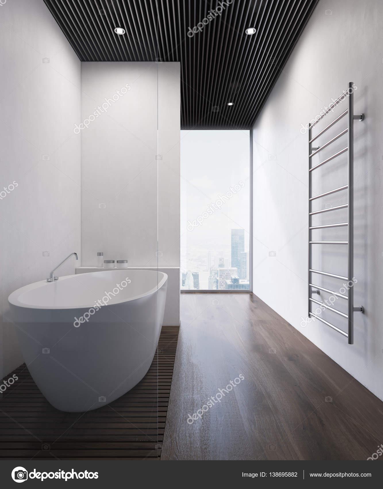 Badkamer met witte muren — Stockfoto © denisismagilov #138695882