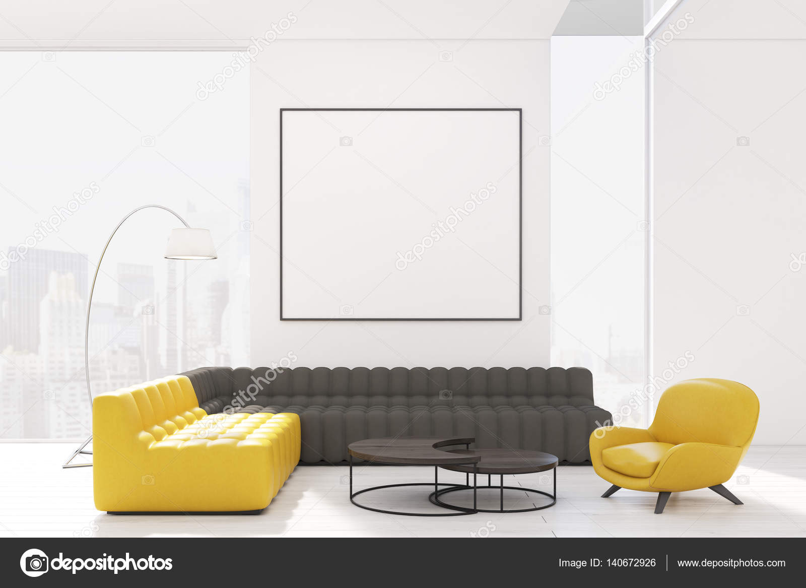 Magnificent Living Room With Two Sofas And Armchair Stock Photo Dailytribune Chair Design For Home Dailytribuneorg