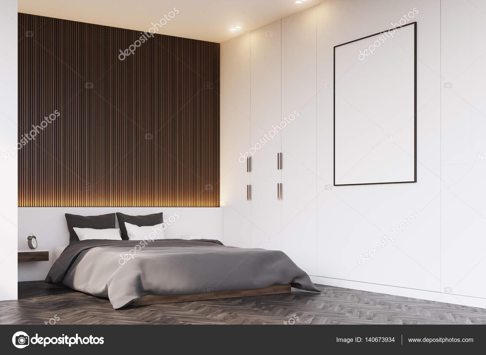 coin chambre avec mur en bois — photographie denisismagilov © #140673934