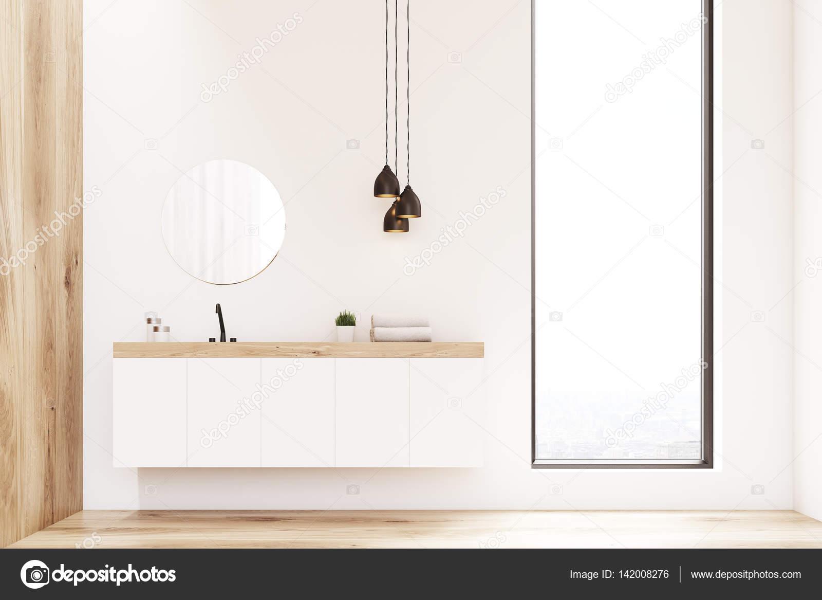 Ronde Spiegel Badkamer : Ronde spiegel hout. ronde spiegel met zwart profiel with ronde