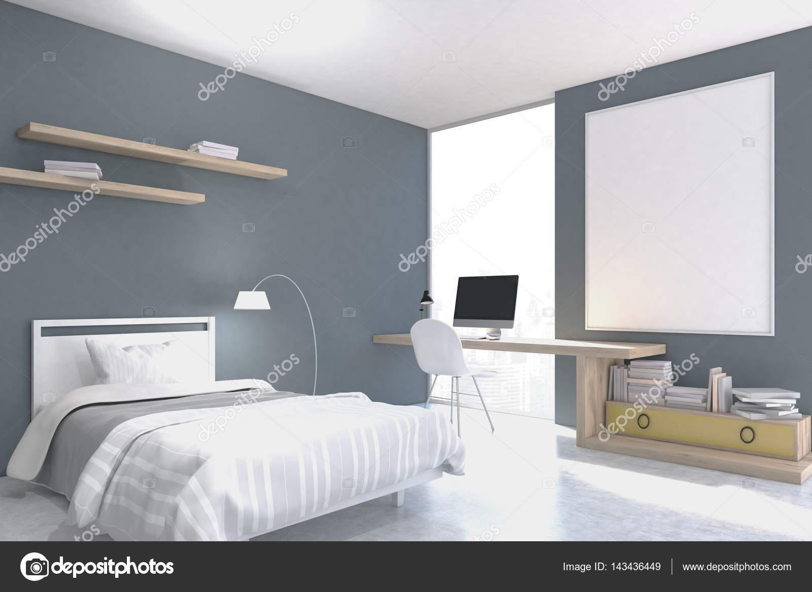 https://st3.depositphotos.com/2673929/14343/i/1600/depositphotos_143436449-stock-photo-gray-walled-bedroom-with-study.jpg
