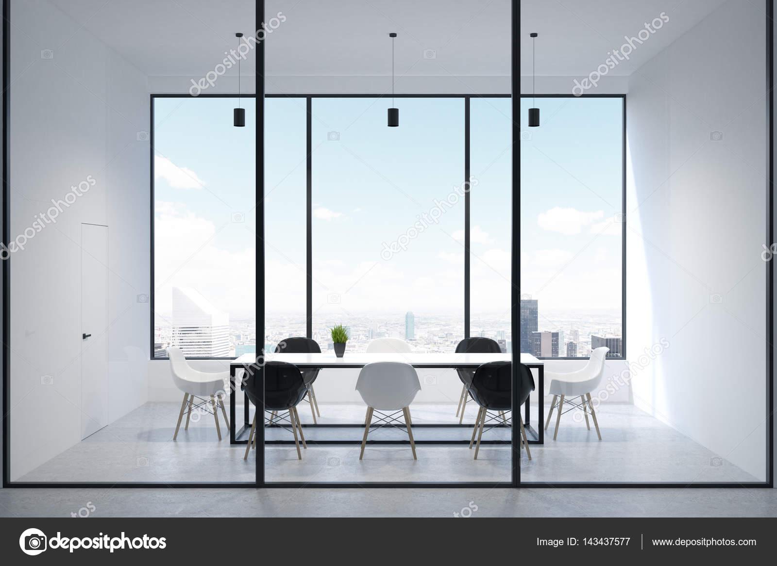 Ufficio Elegante Lungi : Finestra interna sala di conferenza elegante u2014 foto stock