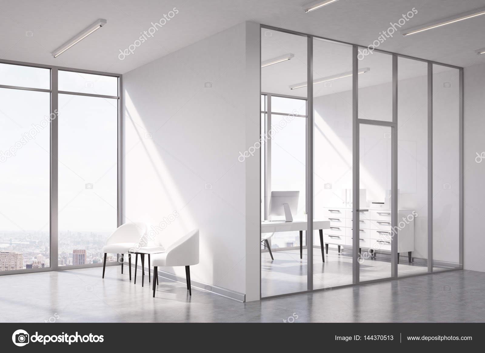 Wachten gebied en ceo kamer glas u stockfoto denisismagilov