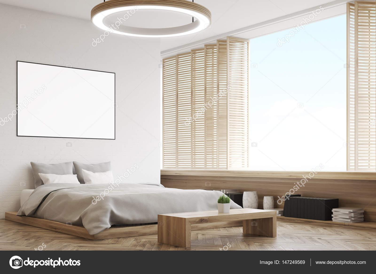 Ecke Aus Einem Schlafzimmer Mit Einer Bank Stockfoto