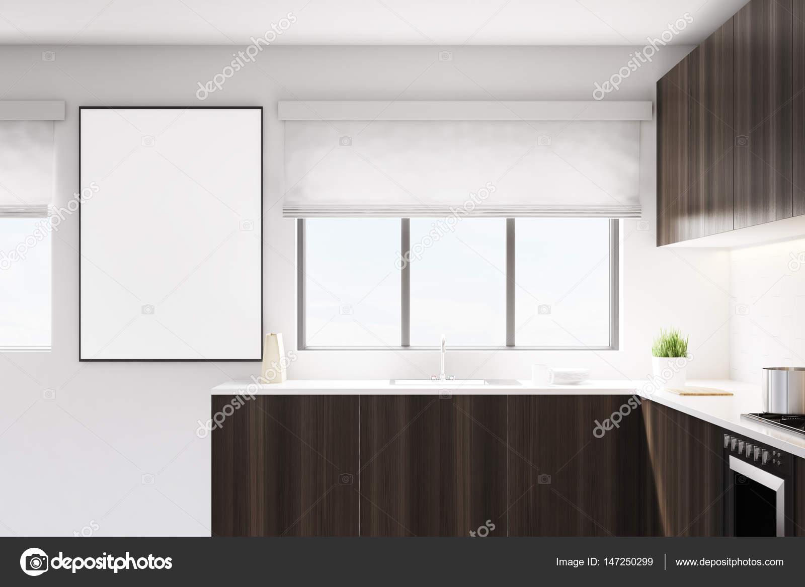 Küche mit poster — Stockfoto © denisismagilov #147250299