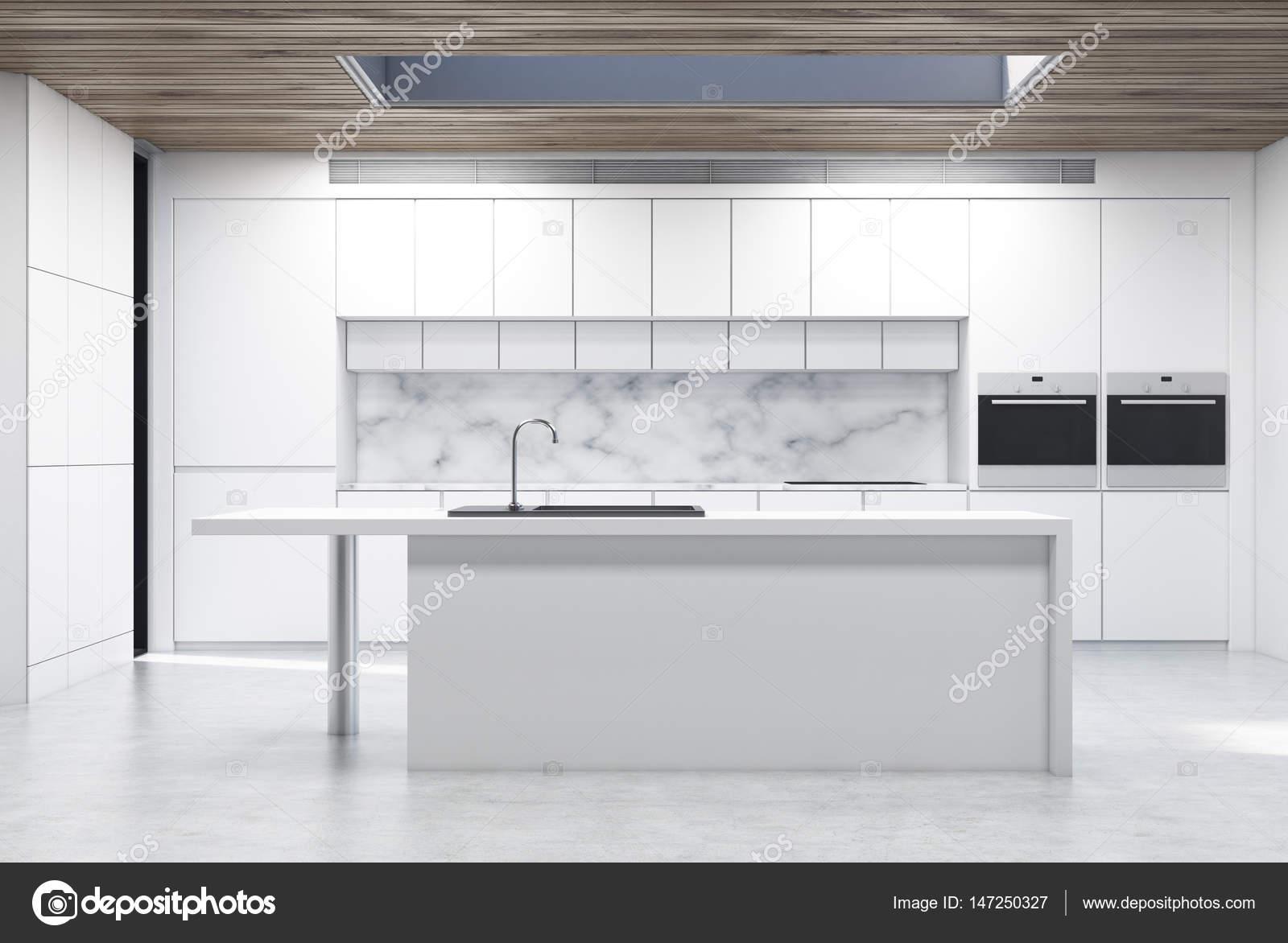 Küche-Insel, Marmor — Stockfoto © denisismagilov #147250327