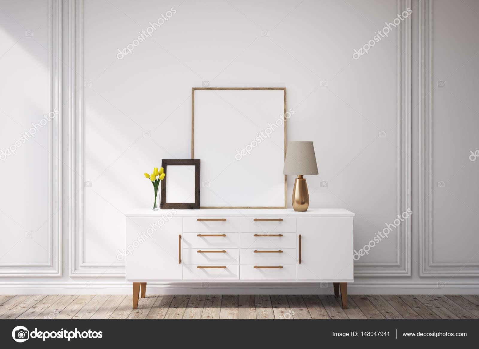 Gabinete con enmarcado de cuadros — Fotos de Stock © denisismagilov ...