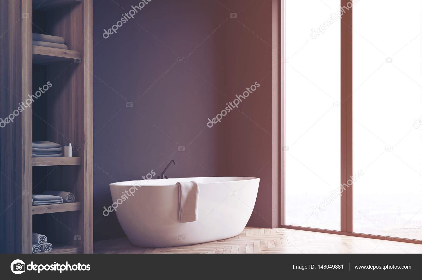 Salle De Bain Mur Noir ~ salle de bain mur placard et noir c t tonifi photographie